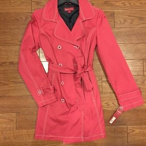 Adorable Pink Trench Coat